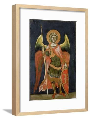 Warrior Angel, 1348-54-Ridolfo di Arpo Guariento-Framed Art Print