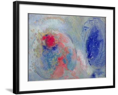 Night and Day, 1908-11-Odilon Redon-Framed Art Print