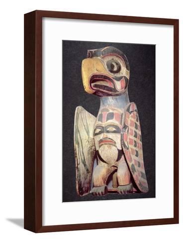 Haida Thunderbird Statue--Framed Art Print