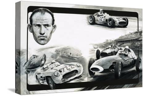 Stirling Moss-Graham Coton-Stretched Canvas Print