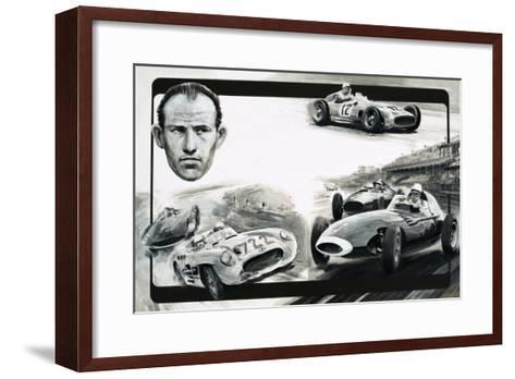Stirling Moss-Graham Coton-Framed Art Print