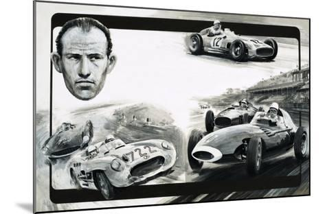 Stirling Moss-Graham Coton-Mounted Giclee Print