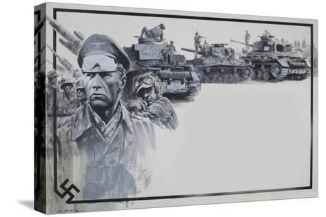 Rommel-Graham Coton-Stretched Canvas Print