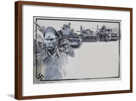 Rommel-Graham Coton-Framed Art Print