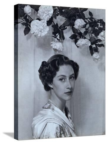 Portrait of the Late Princess Margaret, Countess of Snowdon, 21 August 1930 - 9 February 2002-Cecil Beaton-Stretched Canvas Print