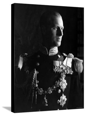 Prince Philip, Duke of Edinburgh, Earl of Merioneth and Baron Greenwich, Married to the Queen-Cecil Beaton-Stretched Canvas Print