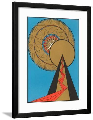 Geometric Art Deco--Framed Art Print