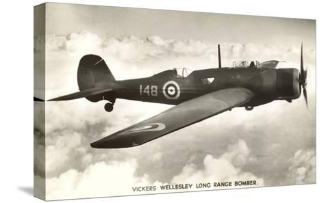 Vickers Wellesley Bomber--Stretched Canvas Print