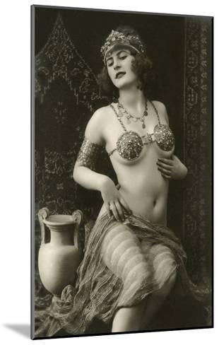 Belly Dancer--Mounted Art Print
