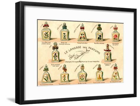 French Perfume Language--Framed Art Print