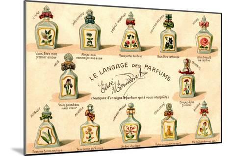 French Perfume Language--Mounted Art Print