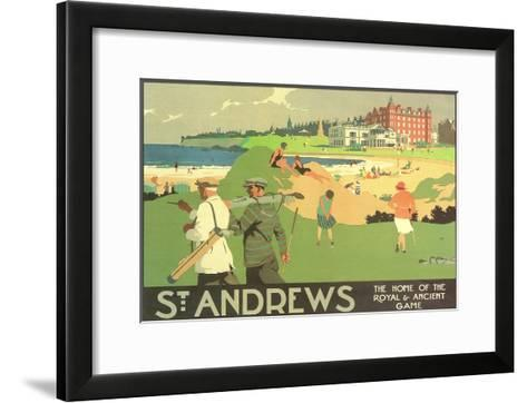 St. Andrews Golf Course Art Print by | the NEW Art.com