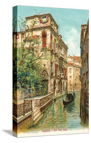 Van Axel Canal, Venice, Italy--Stretched Canvas Print