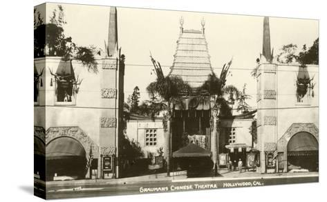 Grauman's Chinese, Hollywood, California--Stretched Canvas Print