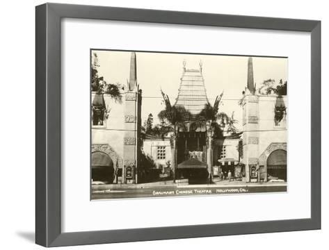 Grauman's Chinese, Hollywood, California--Framed Art Print