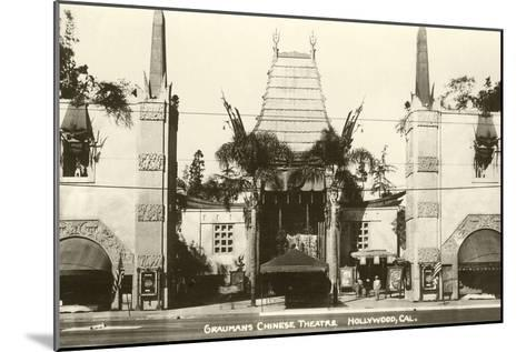 Grauman's Chinese, Hollywood, California--Mounted Art Print