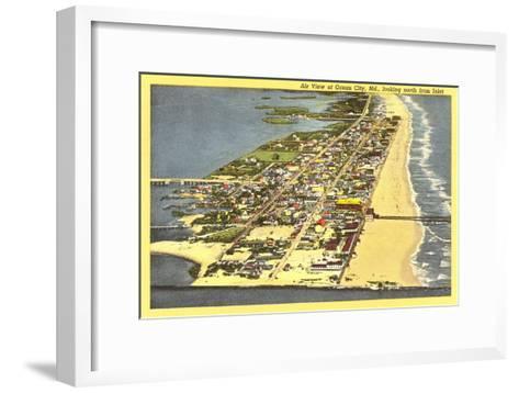 Ocean City, Maryland--Framed Art Print