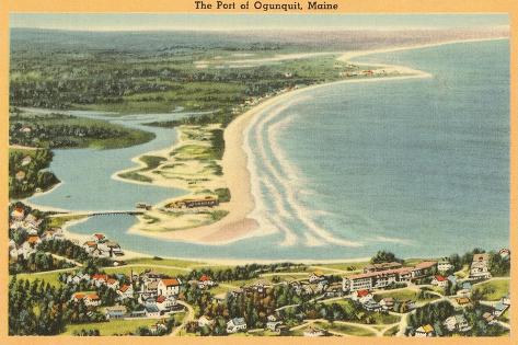 Ogunquit, Maine--Stretched Canvas Print