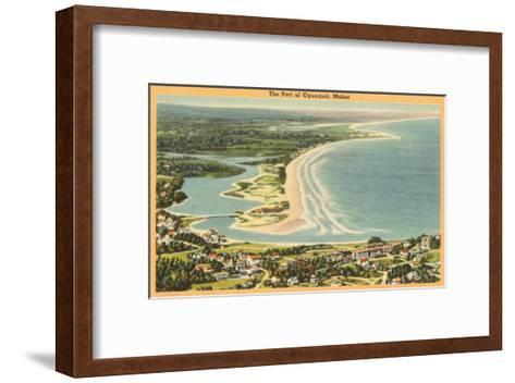 Ogunquit, Maine--Framed Art Print