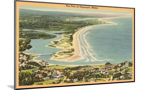 Ogunquit, Maine--Mounted Art Print