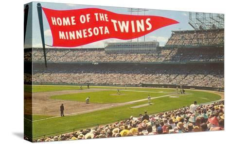 Home of the Minnesota Twins--Stretched Canvas Print