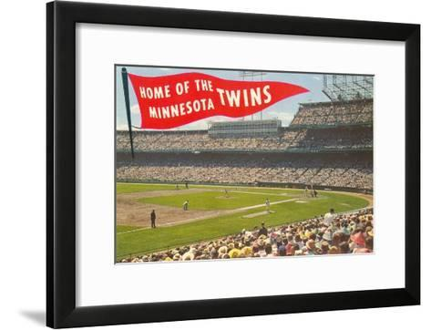Home of the Minnesota Twins--Framed Art Print