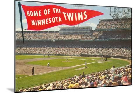 Home of the Minnesota Twins--Mounted Art Print