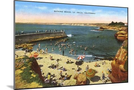 Beach, Cove, La Jolla, California--Mounted Art Print
