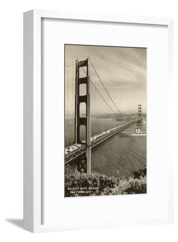 Golden Gate Bridge, San Francisco, California, Photo--Framed Art Print