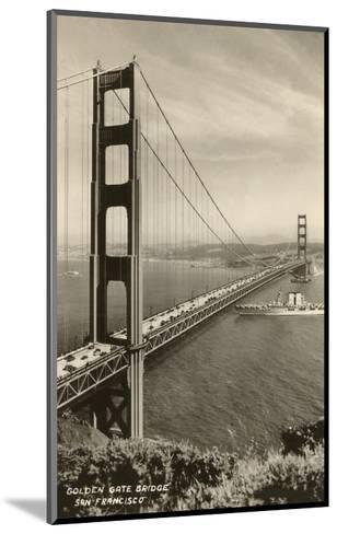 Golden Gate Bridge, San Francisco, California, Photo--Mounted Art Print