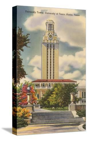 University Tower, Austin, Texas--Stretched Canvas Print