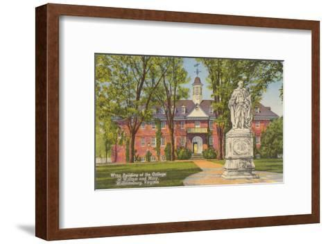 College of William and Mary, Williamsburg, Virginia--Framed Art Print