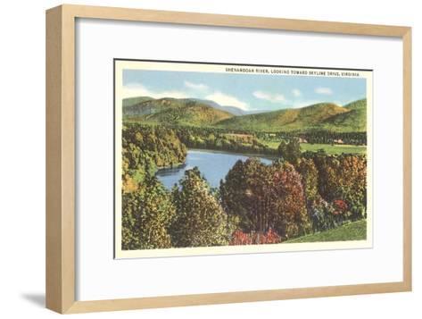 Shenandoah River, Virginia--Framed Art Print