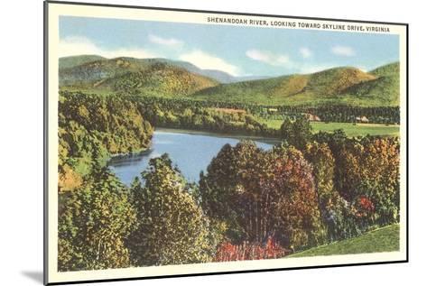 Shenandoah River, Virginia--Mounted Art Print