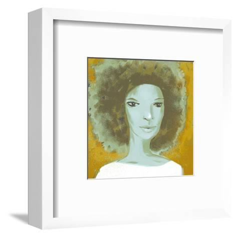 Female Portrait Color Series, No.2--Framed Art Print
