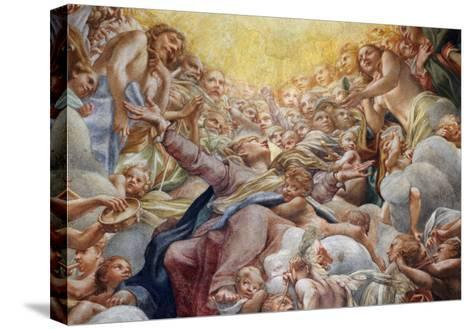Assumption of the Virgin-Correggio-Stretched Canvas Print