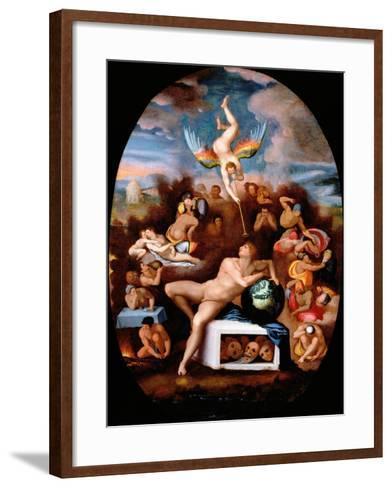 Allegory of Human Life-Alessandro Allori-Framed Art Print