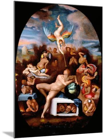 Allegory of Human Life-Alessandro Allori-Mounted Giclee Print