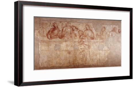 Last Supper-Sodoma-Framed Art Print