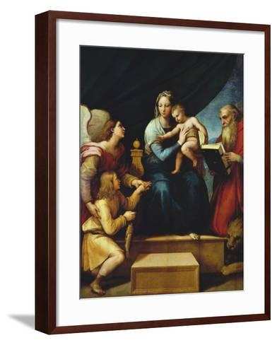 Madonna Del Pesce-Raphael-Framed Art Print