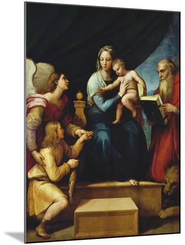 Madonna Del Pesce-Raphael-Mounted Giclee Print