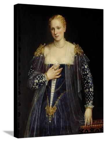 Portrait of Countess Nani-Paolo Veronese-Stretched Canvas Print