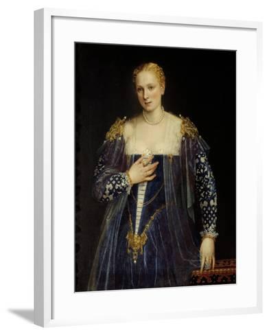 Portrait of Countess Nani-Paolo Veronese-Framed Art Print