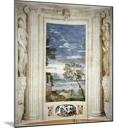 Landscape and Dog-Paolo Veronese-Mounted Giclee Print