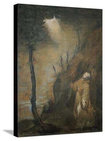 S. Francesco Riceve Le Stimmate-Federico Barocci-Stretched Canvas Print