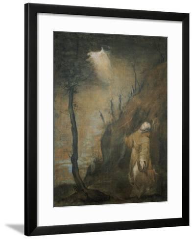 S. Francesco Riceve Le Stimmate-Federico Barocci-Framed Art Print
