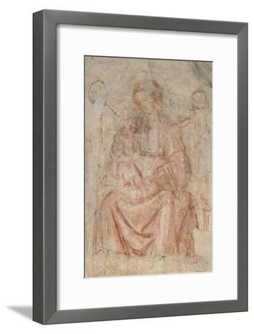 Virgin and Child-Sandro Botticelli-Framed Art Print