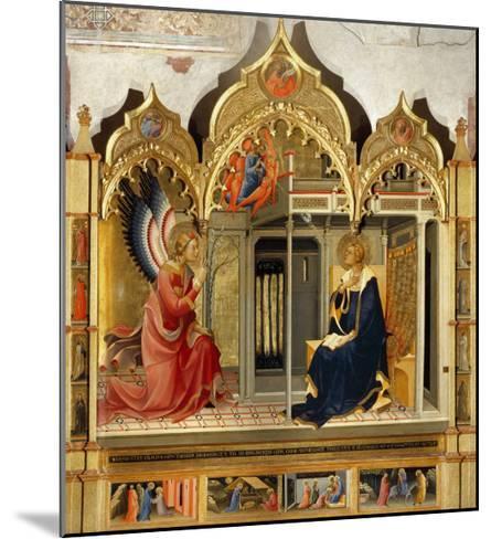 Annunciation-Lorenzo Monaco-Mounted Giclee Print