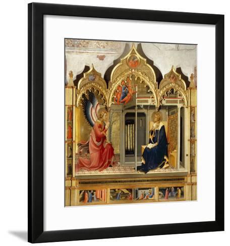 Annunciation-Lorenzo Monaco-Framed Art Print