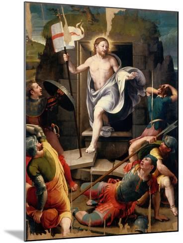 Resurrection-Raffaellino Del Colle-Mounted Giclee Print